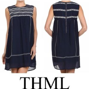 💠 Nordstrom Rack 💠 THML Embroidered Tunic Dress